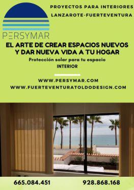 fuerteventura estore y cortinas,persymar,indoor,interiorismo,proyectos